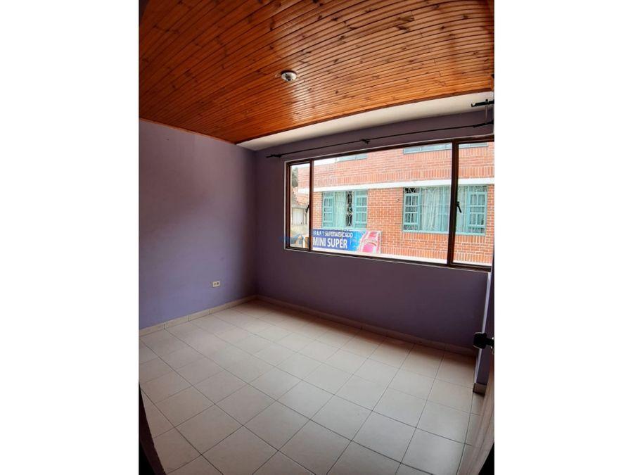 se arrienda apartamento santa isabel segundo piso