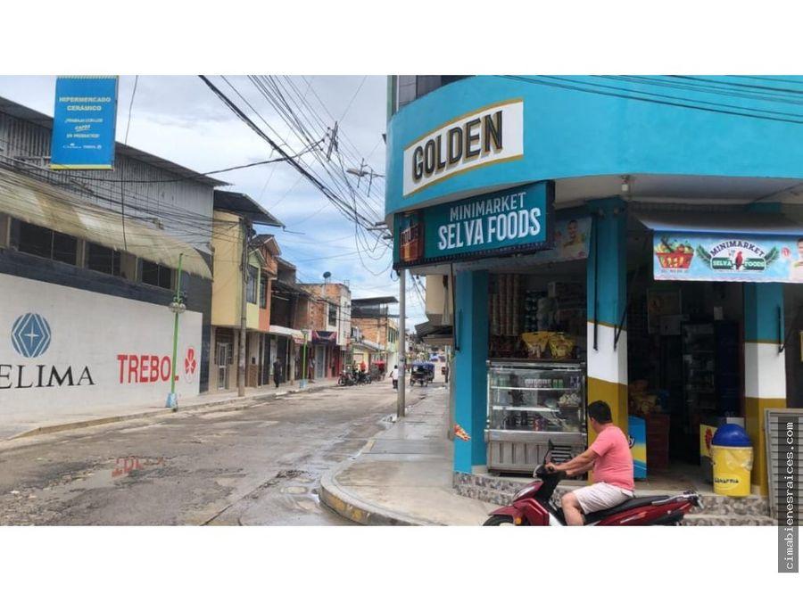 vendo casa para comercio en moyobamba