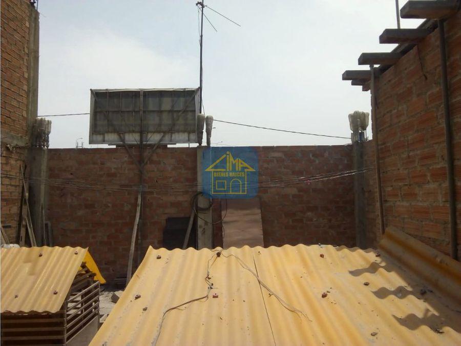 vendo casa de 74m2 techo propio pachacutec