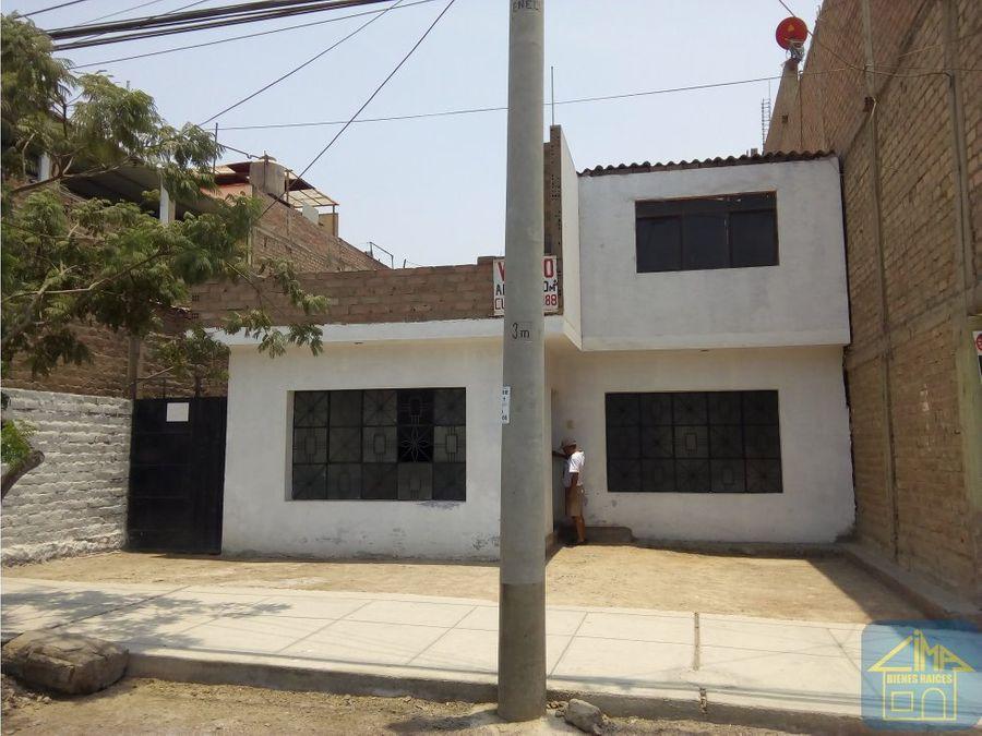 vendo casa en terreno 300m2 sta rosa pte piedra