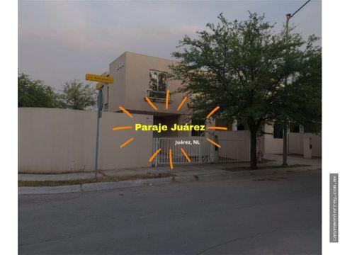 casa en venta paraje juarez