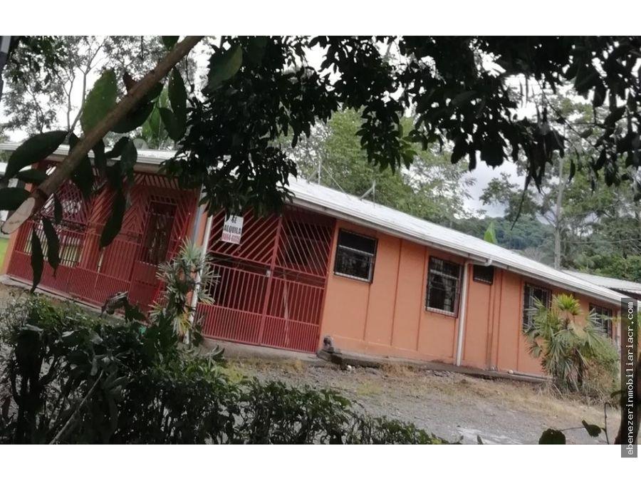 venta de casa y apartamento en jimenez de guapiles