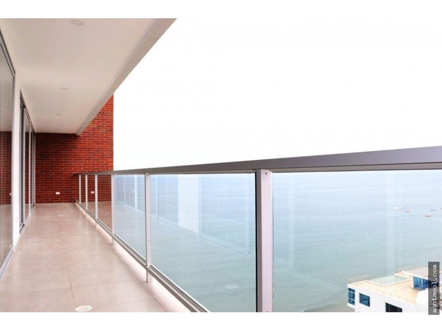 vendo dep frente al mar edificio ibiza 13 piso