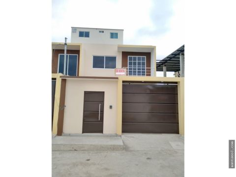 vendo casa nueva sector altagracia