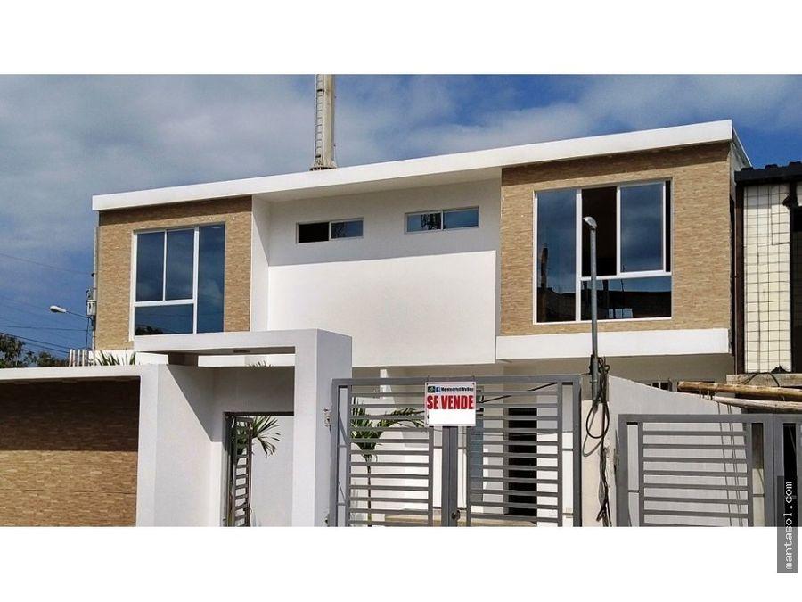vendo casa sector la fabril