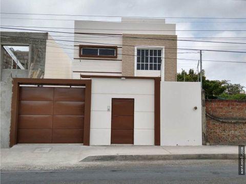 vendo casa nueva sector elegole