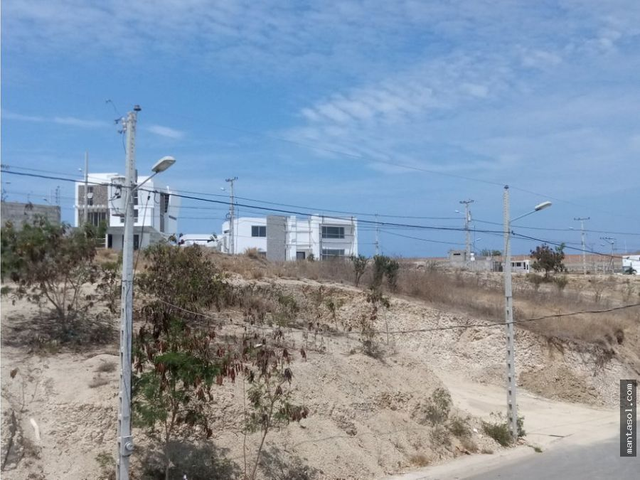 vendo lote en altos de mantabeach a21