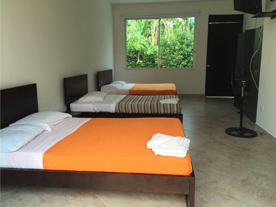 venta hotel campestre en montenegro quindio