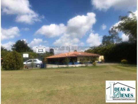 casa campestre en venta rionegro sector gualanday