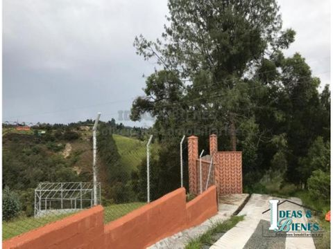 casa finca en venta rionegro sector san luis