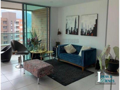 apartamento en venta envigado sector loma los mesa