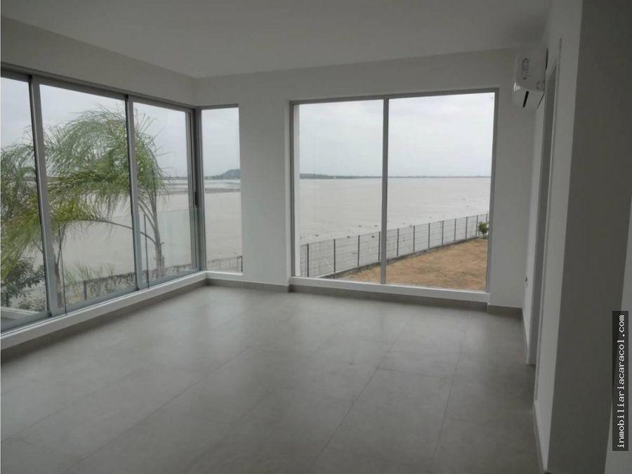 venta hermoso penthouse isla mocoli vista al rio 3 dorm