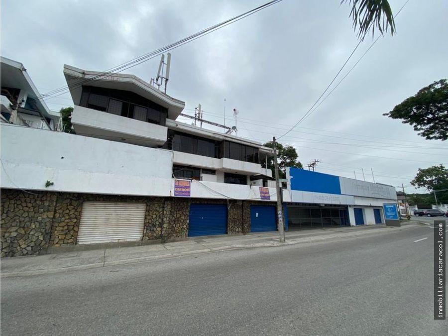 urdesa central alquilo edificio con locales comerciales y oficinas