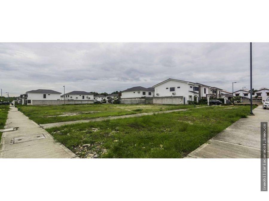 punta esmeralda terreno residencial de 200 m2