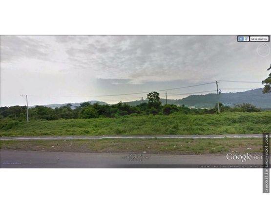via costa km12 vendo terreno comercial 18000m2