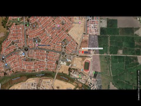 samborondon ciudad celeste vendo terreno comercial 7482m2