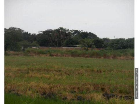 via costa km 22 chongon macrolote de 187400