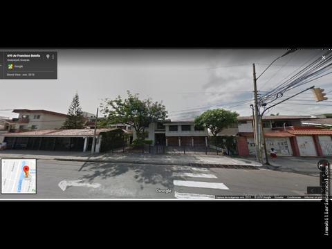en guayaquil av francisco bolona terreno comercial 1000 m2