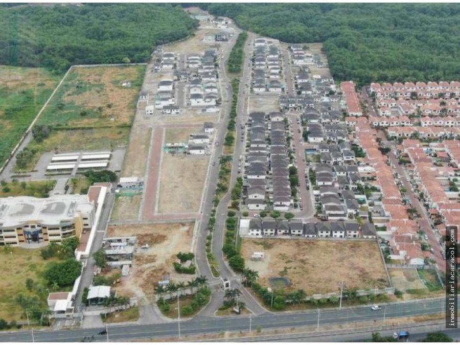 via a costa km 13 vendo terreno comercial 5816 m2
