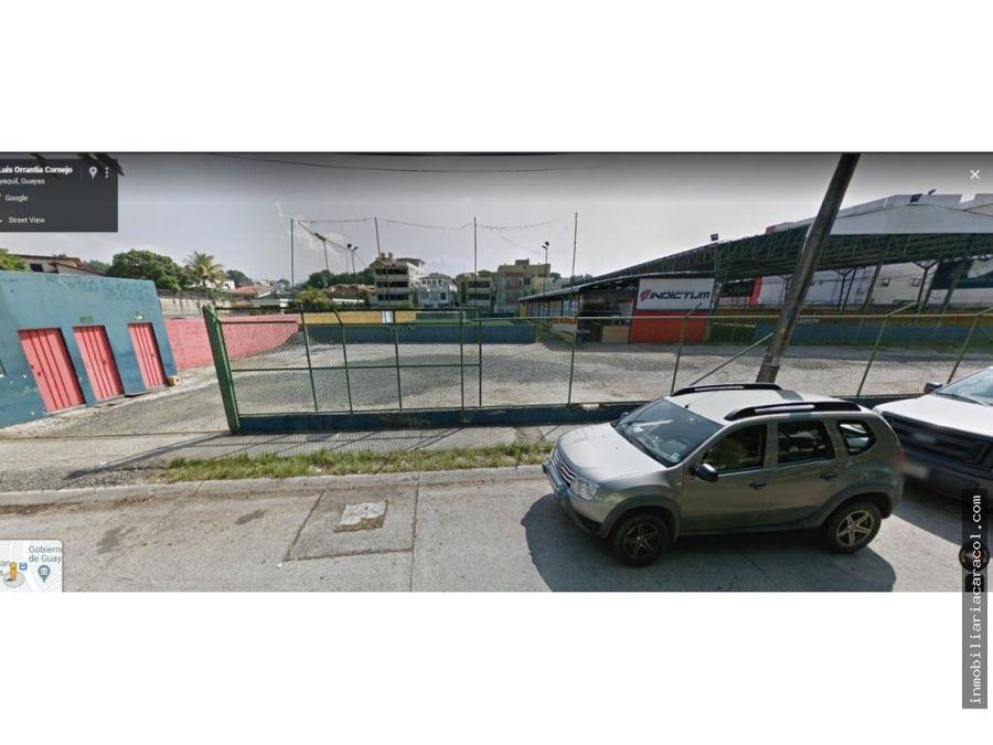 terreno comercial 2970 m2 av dr luis orrantia kennedy norte
