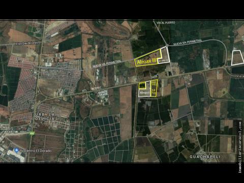 samborondon av miguel yunes 60000m2 uso de suelo industria