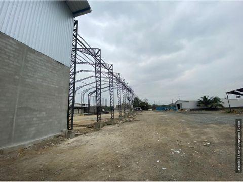 guayaquil via perimetral se alquila bodega de 8000 m2