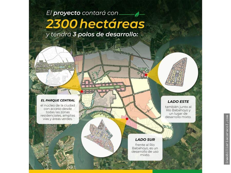 macrolote 5830 de venta en samborondon ciudad celeste sector sur