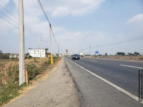 yaguachi via al pan cerca a los bancos terreno de 4764 has