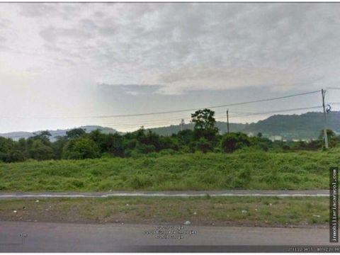 terreno de 445 hectareas de oportunidad en via a la costa km 20
