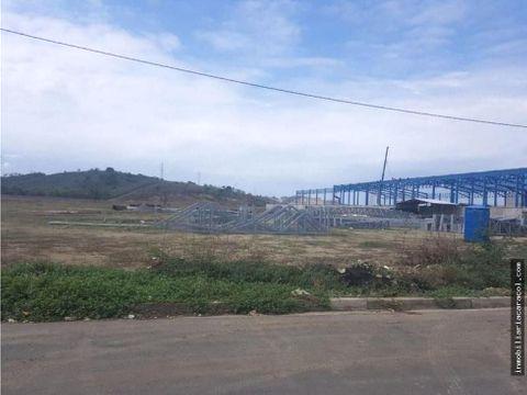 km 295 via daule petrillo terreno parque industrial de 31061 m2