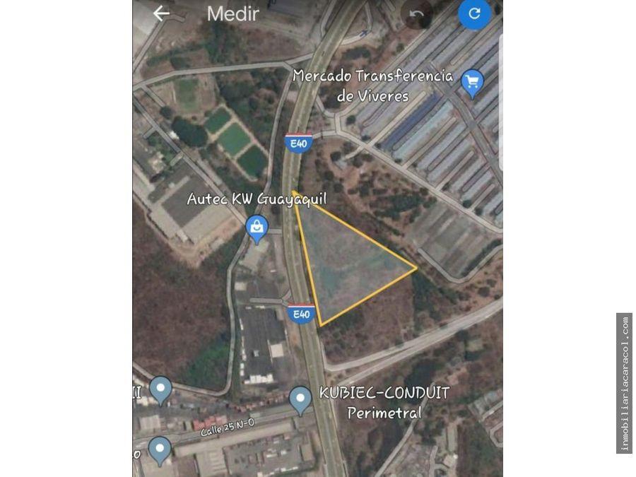 perimetral terreno comercial 42086 m2