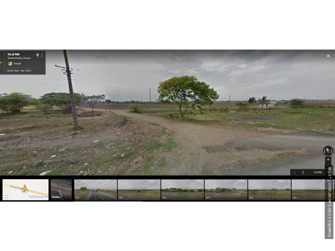 samborondon via a yaguachi al pan terreno de 12 has