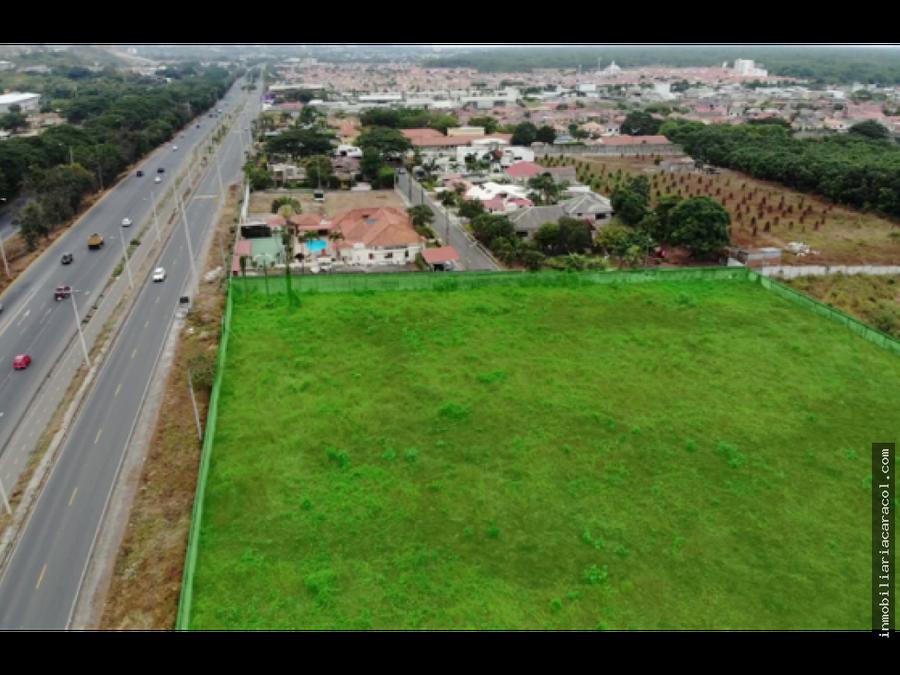 guayaquil via a la costa km 15 se vende terreno 2006031 m2