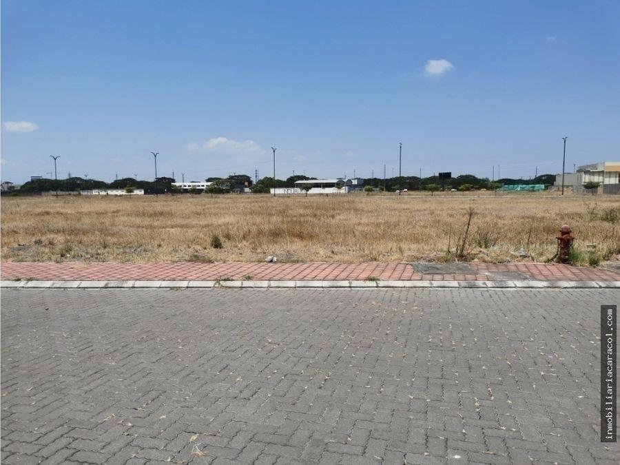 guayaquil via costa km 14 punta esmeralda terreno comercial 5816 m2