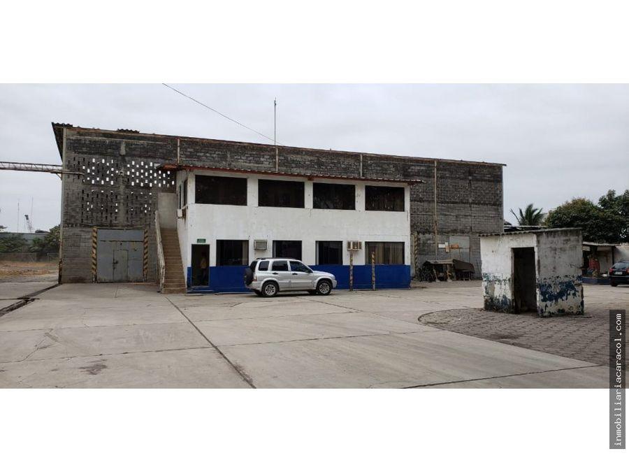 duran se vende complejo de bodegas con galpones y oficinas