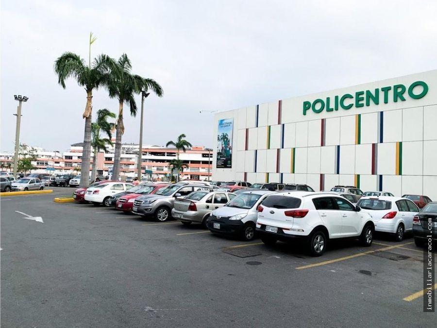 local comercial en cc policentro 120 m2 en alquiler
