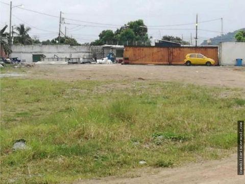via daule inmaconsa se vende terreno industrial 7308 m2