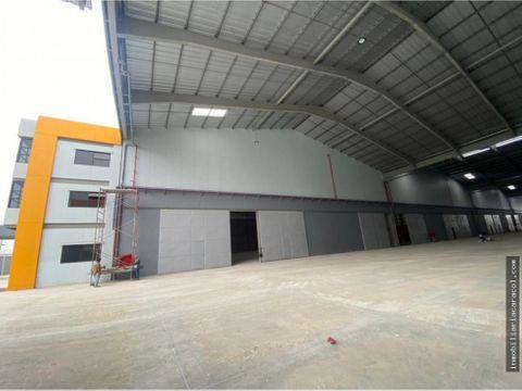 venta alquiler bodega industrial 8640 m2 en duran ecuador