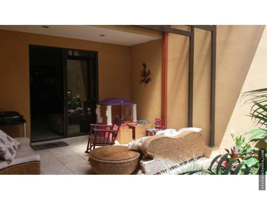 venta de casa en sabanilla condominio aranda