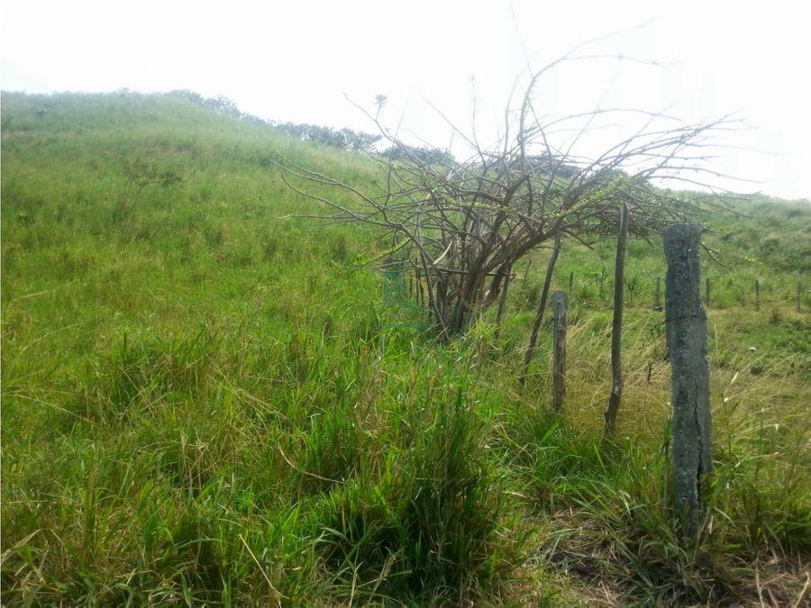 se vende lindo terreno en via cojimies