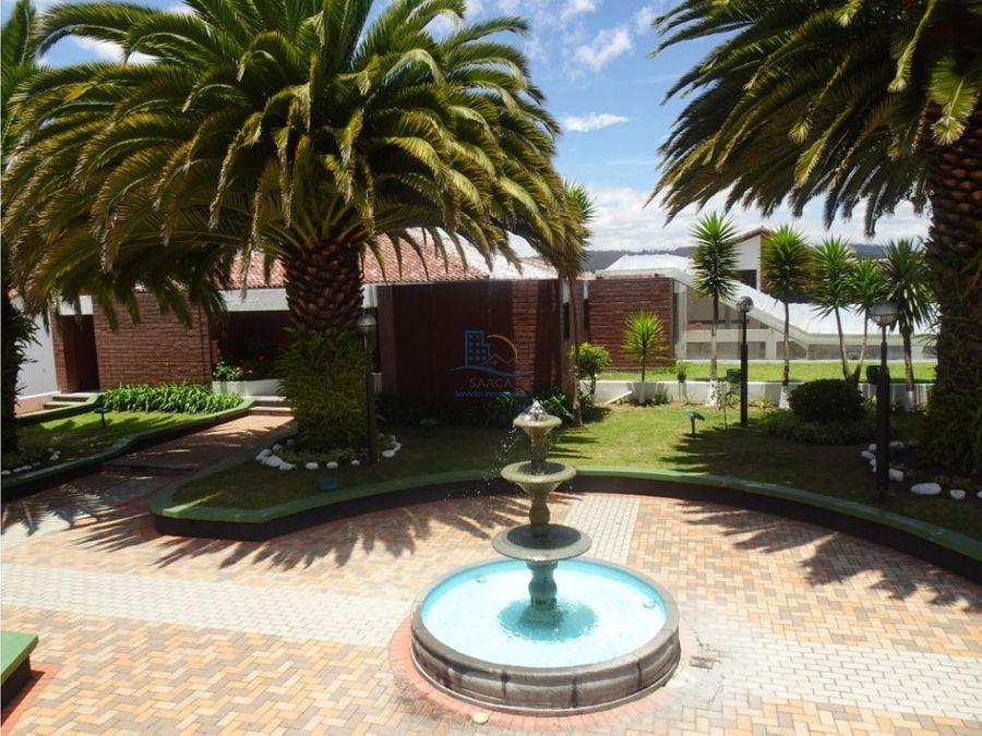 bonita casa de renta el bosque quito tennis conjunto con piscina