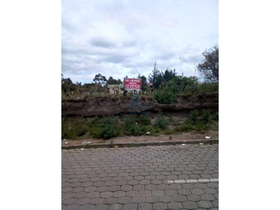 amplio terreno de venta en malchingui