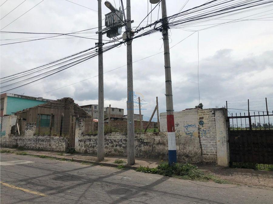 venta 2 hectareas terreno pifo a 2 cuadras del parque via principal