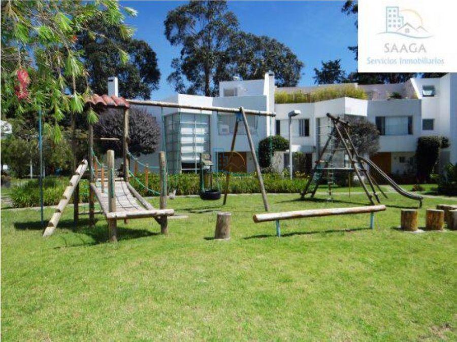 venta de hermosa casa en cumbaya la primavera 2