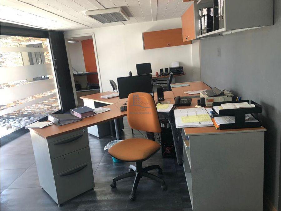 en renta amplia oficina amoblada la pradera