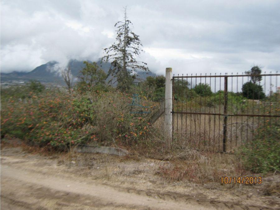 terreno en venta pomasqui urb con areas comunales