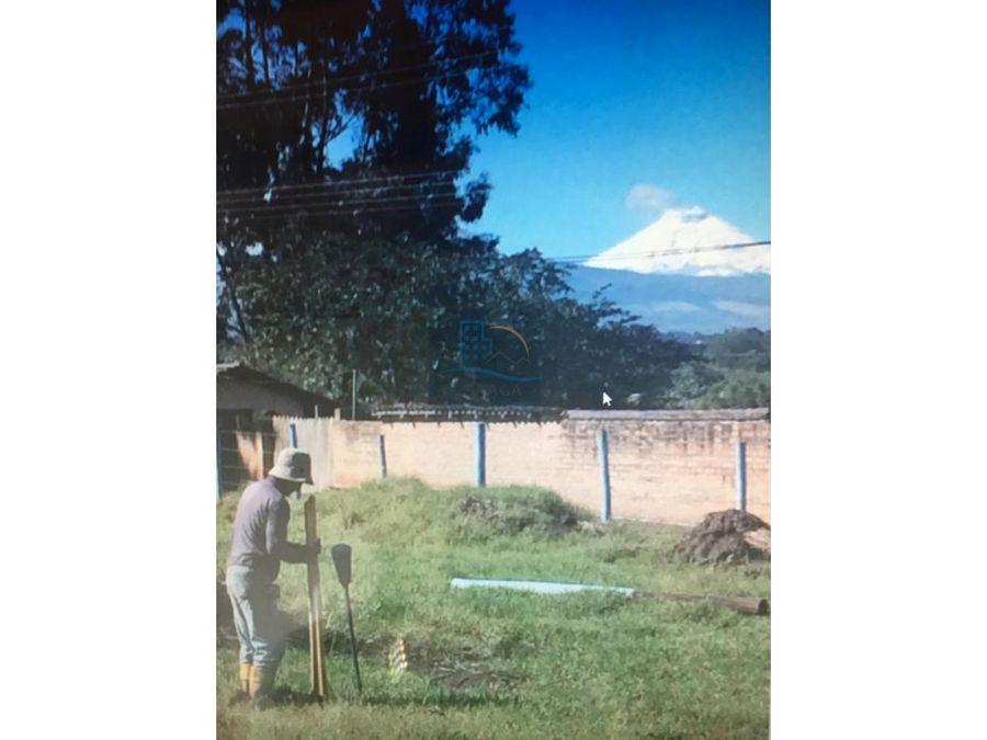 espectacular venta de terreno en tababela yaruqui