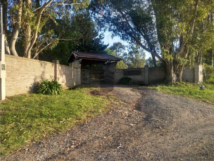 en venta quinta con cabanas ideal para emprendimiento turistico tandil