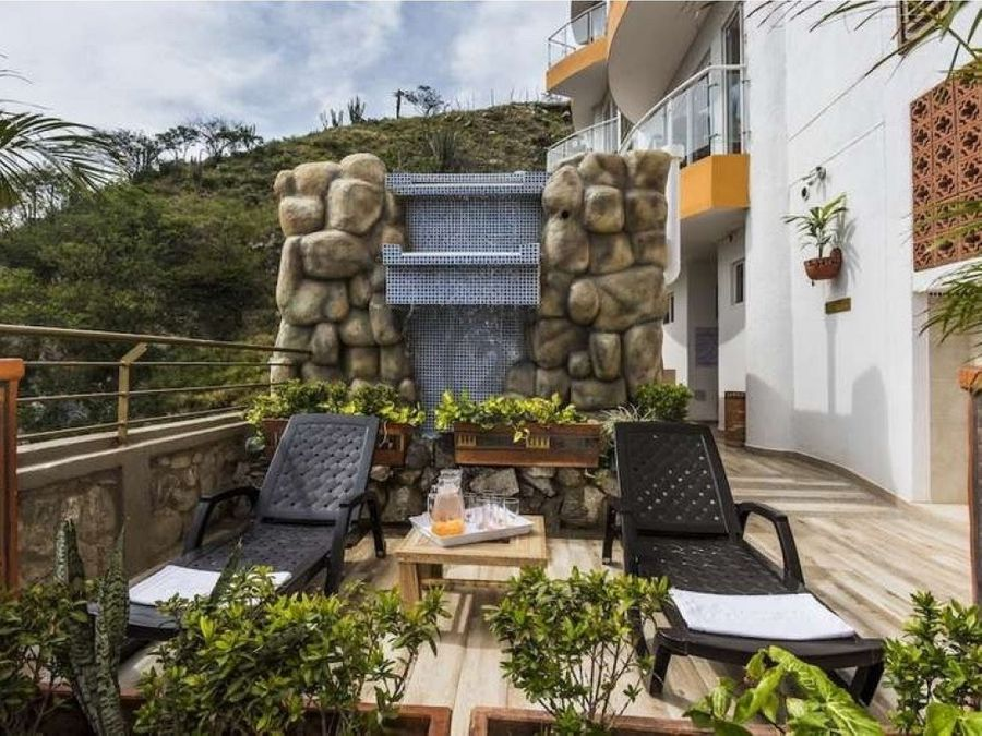 se vende apto 68 mt2 con vista al mar rodadero santa marta colombia