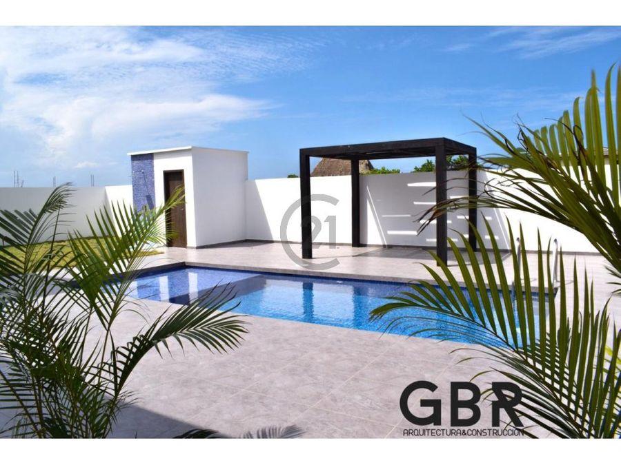 moderna cabana salinas del rey piscina privada
